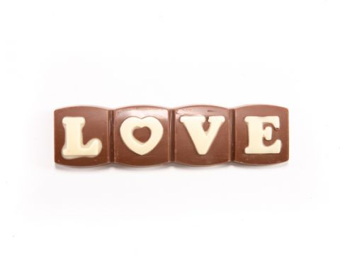 Love milk chocolate