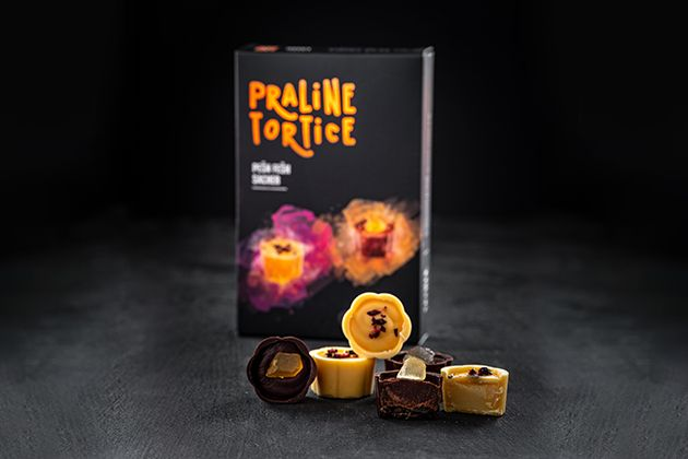 Premium praline Sacher & Passion Fashion