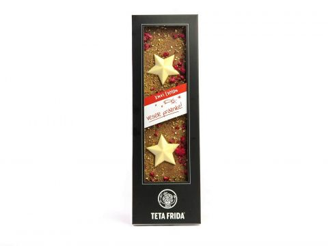 Christmas chocolate with stars special offer