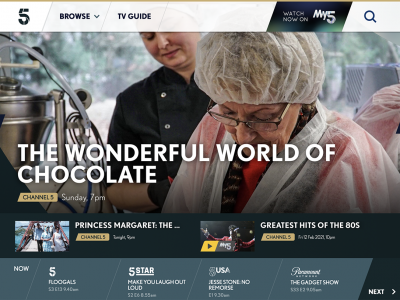 Aunt Frida and her luxury chocolate glamping resort stars on English television show